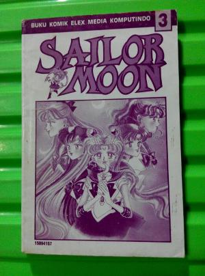 Komik Sailor Moon No. 3 (tanpa sampul lepas)